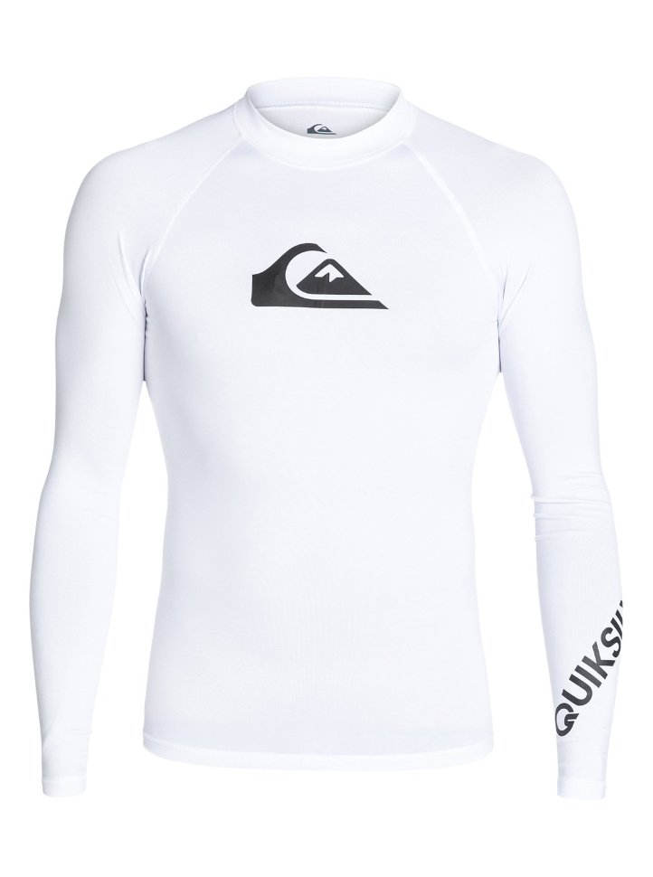 Гидрофуфайка мужская QUIKSILVER All Time Ls M White