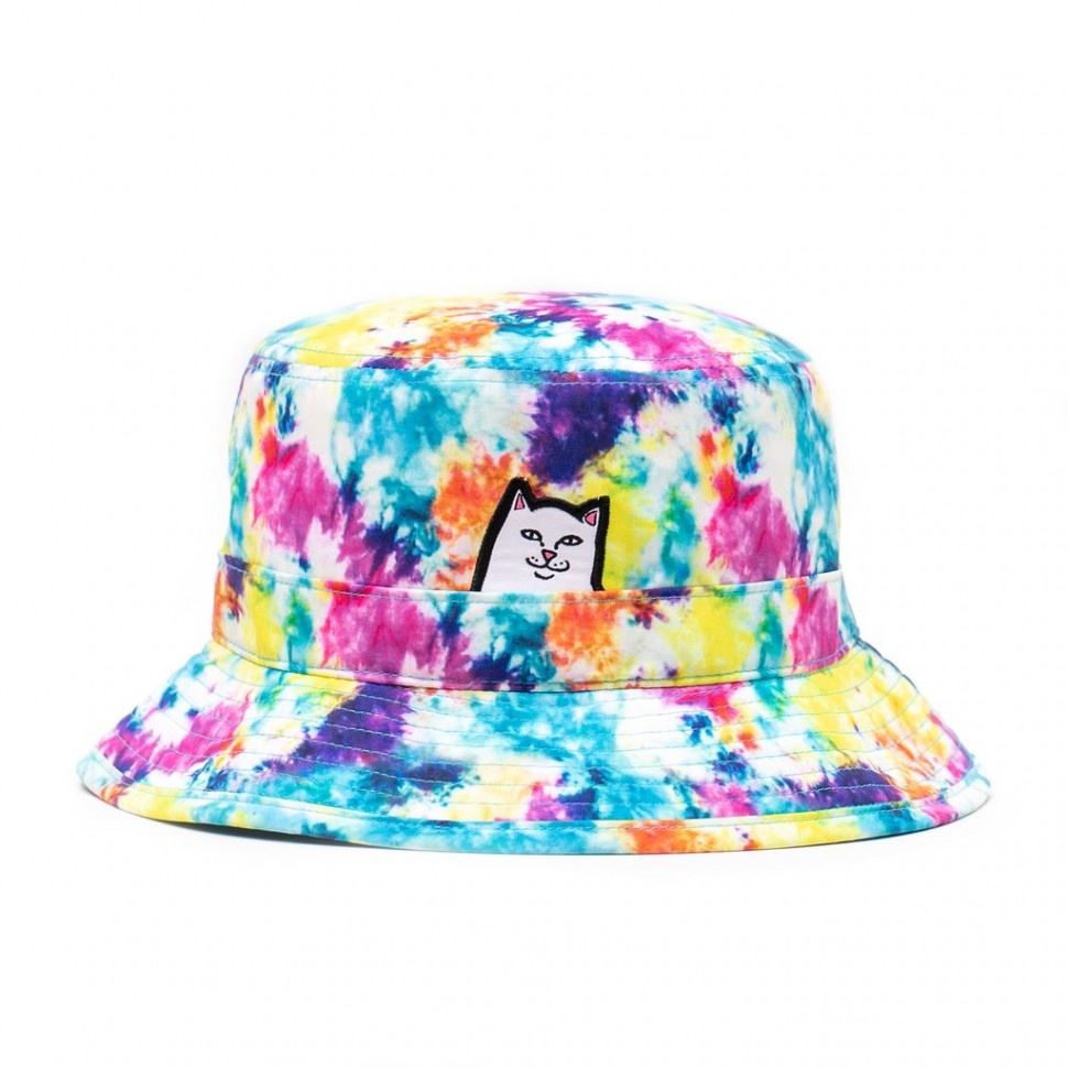 Панама RIPNDIP Lord Nermal Bucket Hat Tie Dye