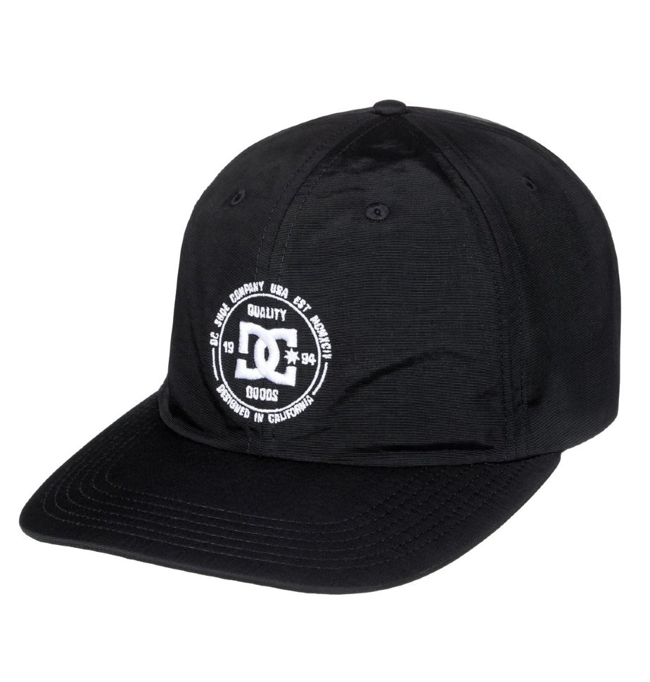 Кепка-бейсболка мужская DC SHOES Couch Tender Black