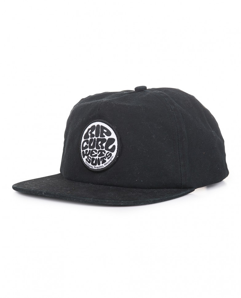 Кепка RIP CURL Washed Wetty Snap Back Cp Washed Black фото