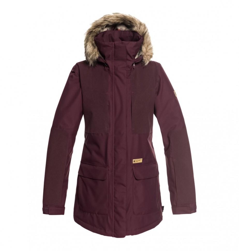 Купить со скидкой Куртка для сноуборда женская DC SHOES Panoramic Jkt J Winetasting