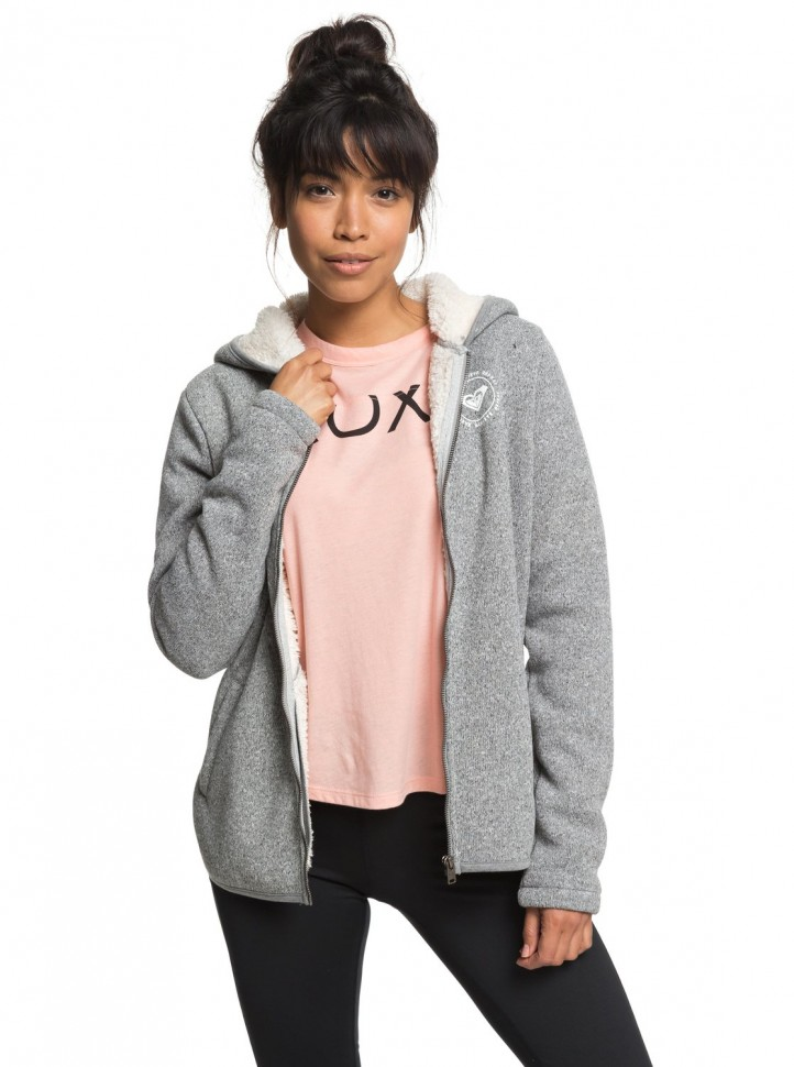 Кардиган ROXY Super Cosy Fl A J Charcoal Heather
