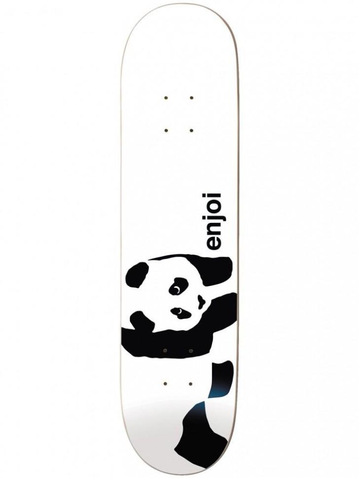Дека для скейтборда ENJOI Whitey Panda Logo Wide R7 Whitey 8