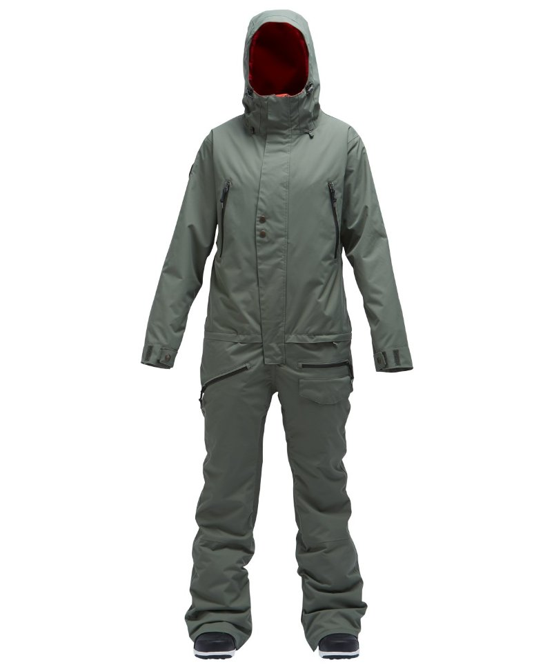 Фото #1: Комбинезон AIRBLASTER Women'S Insulated Freedom Suit Olive