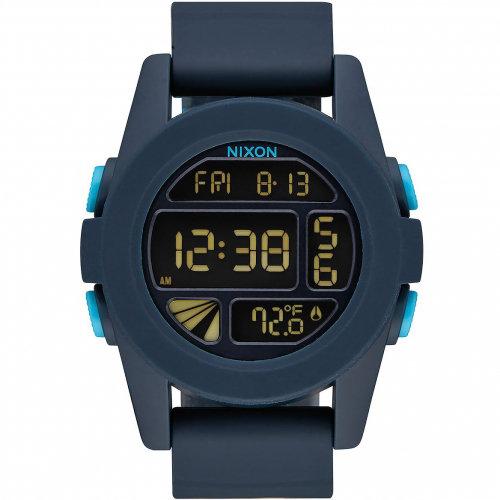 Часы NIXON Unit A/S All Dark Blue