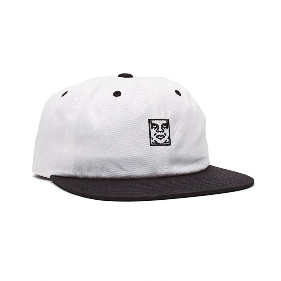 Кепка OBEY Icon 6 Panel Strapback White Multi 2020