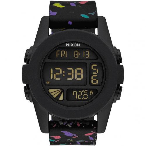 Часы NIXON Unit A/S Black Multi Speckle