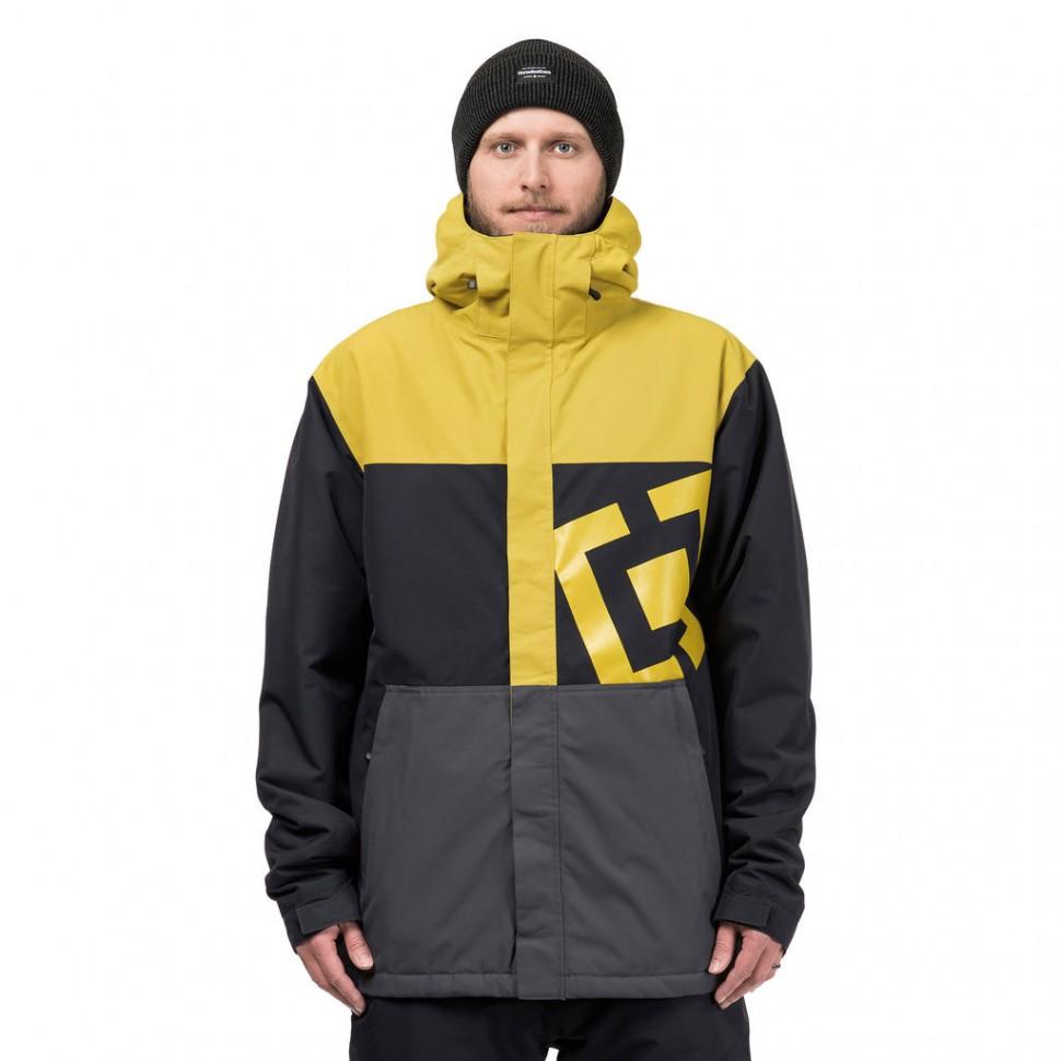 Купить со скидкой Куртка для сноуборда мужская HORSEFEATHERS M Falcon Jacket Apple Green