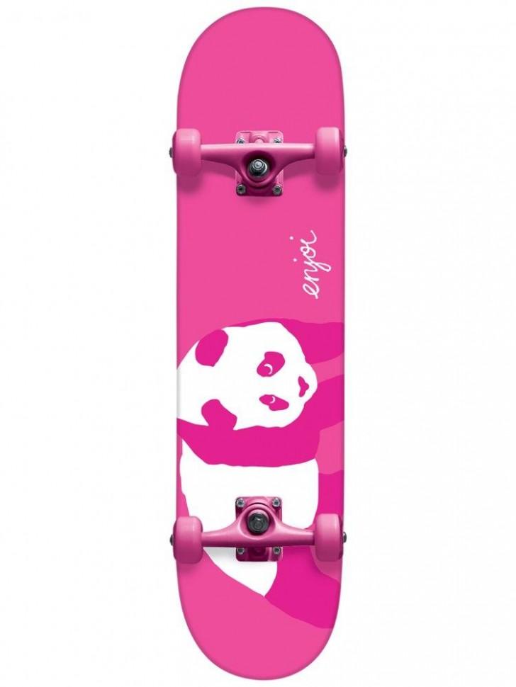 Скейтборд комплект ENJOI Hi. My Name Is Pinky Resin Complete Pink 8