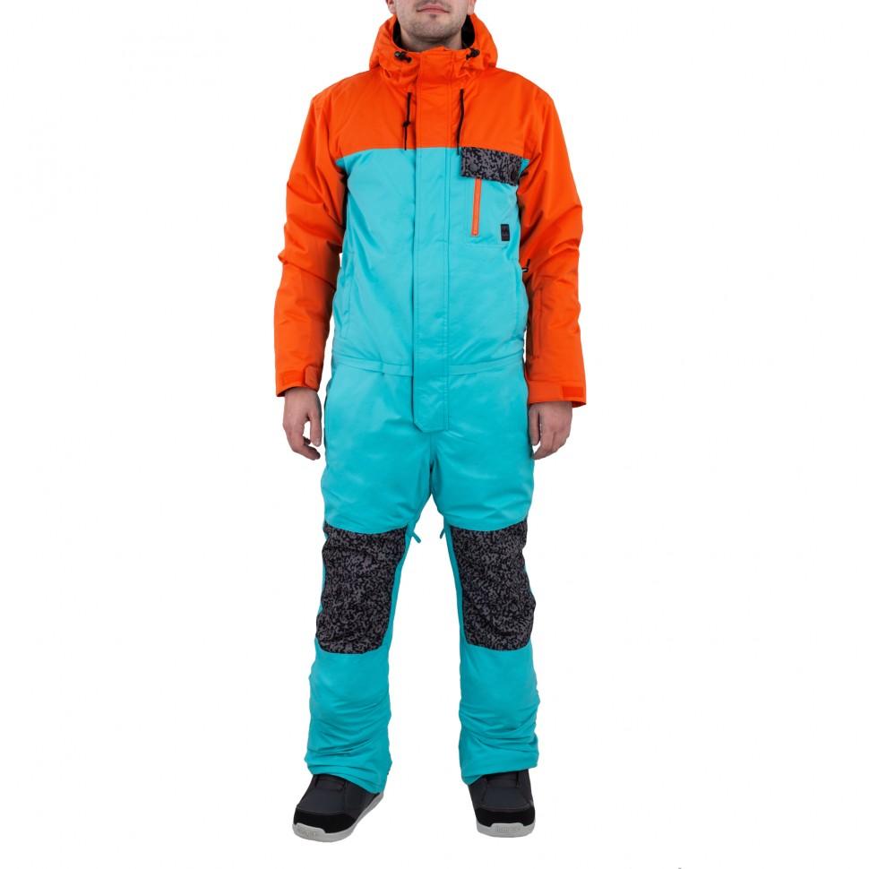 Комбинезон сноубордический мужской BILLABONG Fuller Suit Puffin Orange фото