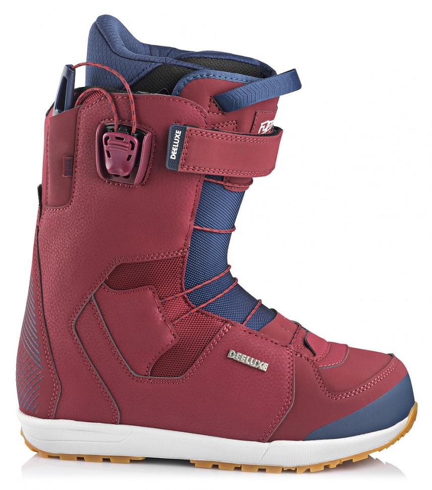 Купить со скидкой Ботинки для сноуборда мужские DEELUXE Deemon Tf Burgundy 2020