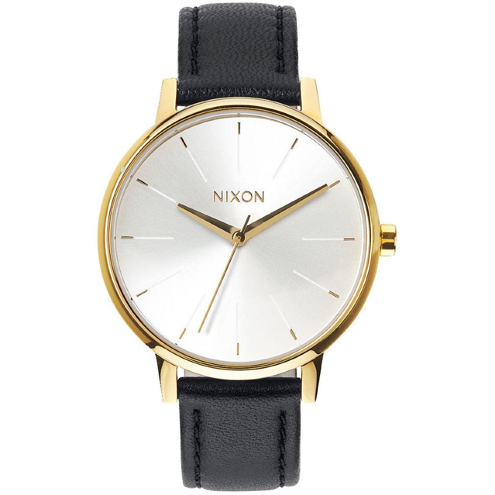 Часы NIXON Kensington Leather A/S Gold/White/Black