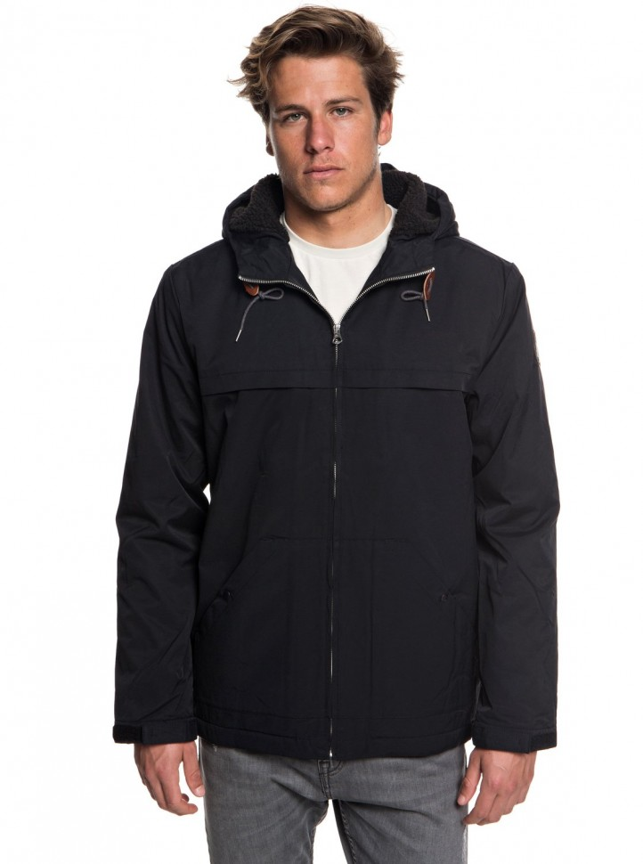 Куртка QUIKSILVER Wanna M Black фото