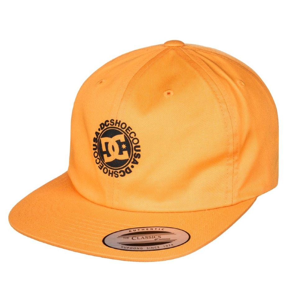 Кепка-бейсболка мужская DC SHOES Core Twill Cap Old Gold фото