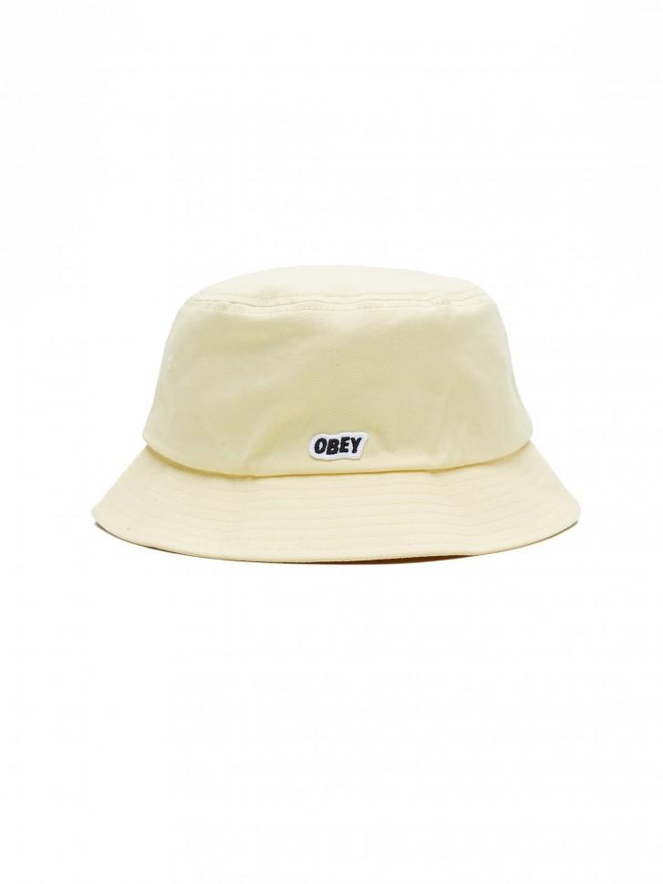 Панама OBEY Sleeper Bucket Hat Pale Yellow фото