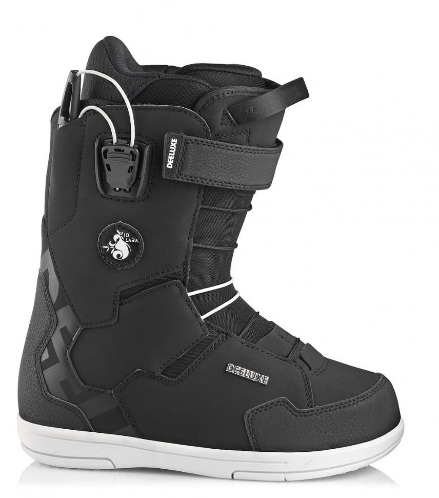 Ботинки для сноуборда женские DEELUXE Team Id Lara Tf Black 2020 фото