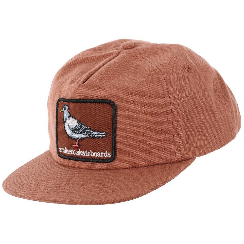 Купить со скидкой Кепка ANTI-HERO Adj Pigeon Patch Snpbk Brwn