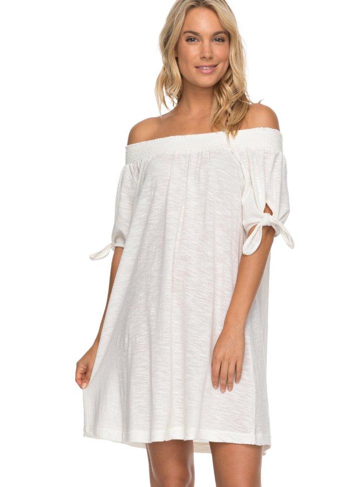 Купить со скидкой Платье женское ROXY Brightblue Sky J Marshmallow