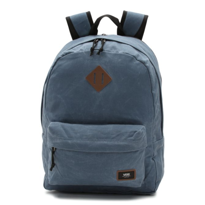 Рюкзак VANS Mn Old Skool Plus Backpack Blue Stone 17.5L  фото