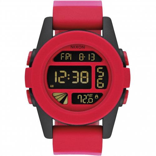 Часы NIXON Unit A/S Red Fade
