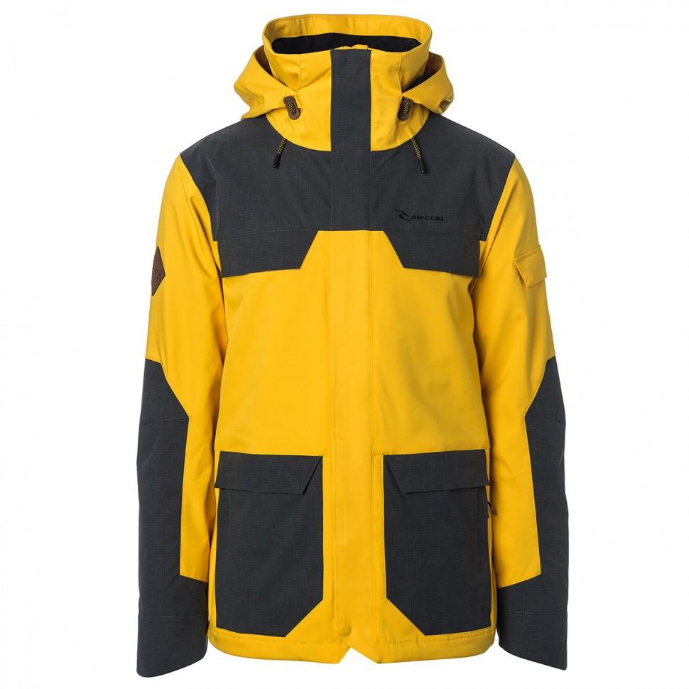 Купить со скидкой Куртка для сноуборда мужская Pow Pow Jacket Spicy Mustard