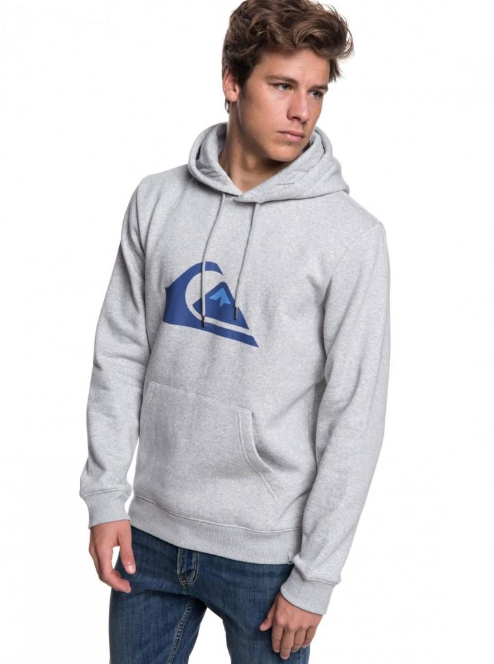 Джемпер QUIKSILVER Big Logo Hood M Light Grey Heather