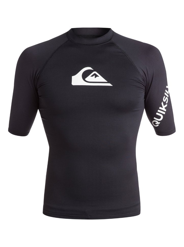 Гидрофутболка мужская QUIKSILVER All Time Ss M Black
