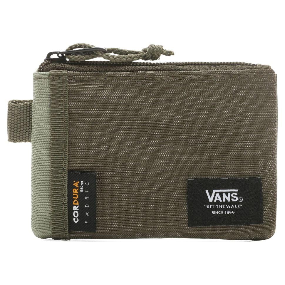 Бумажник VANS Mn Vans Pouch Wallet Oil Green фото