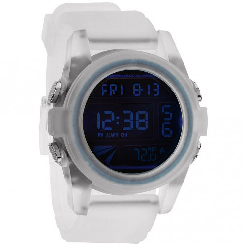 Часы NIXON Unit A/S Translucent/Iridium