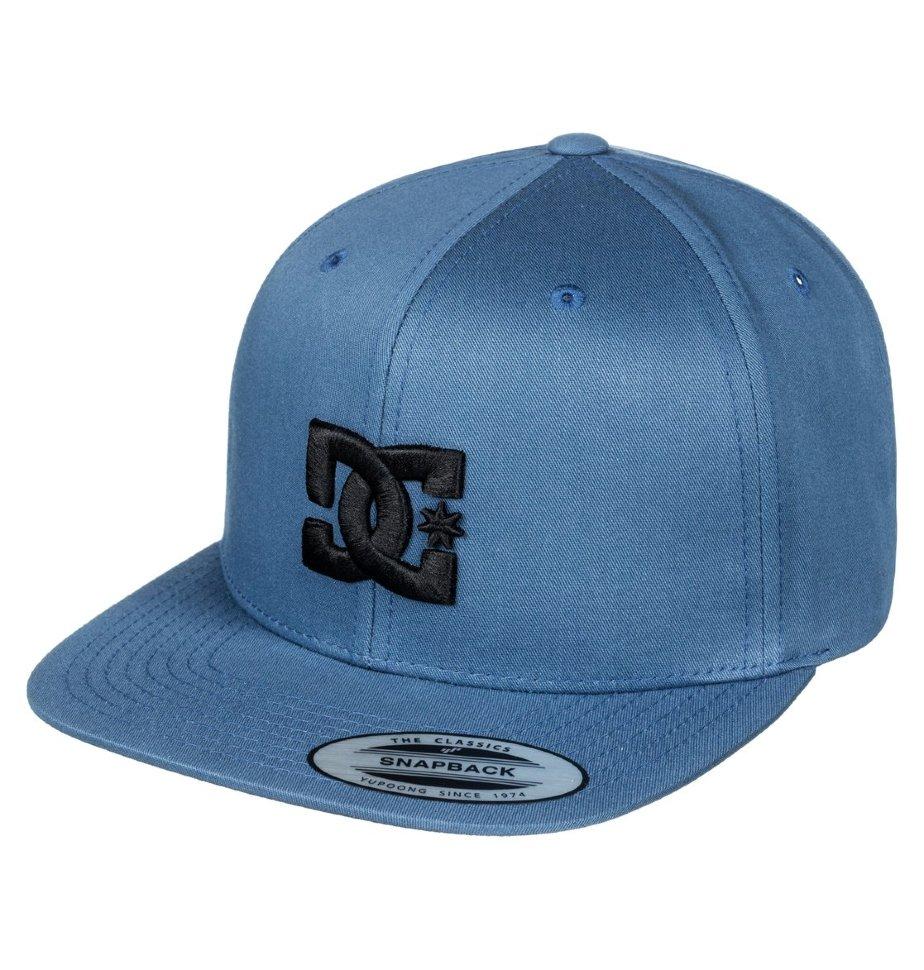 Кепка-бейсболка мужская DC SHOES Snappy Blue Mirage