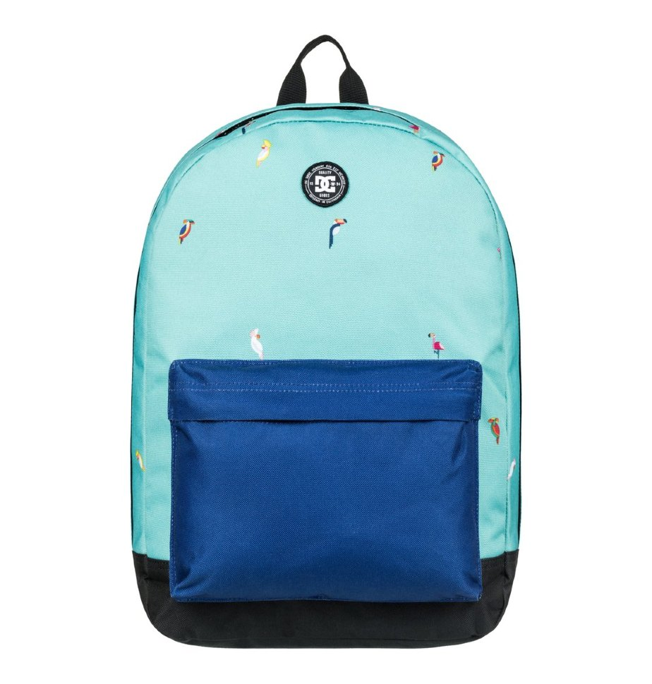 Рюкзак мужской DC SHOES Backstack Print M Maui Blue Toucan