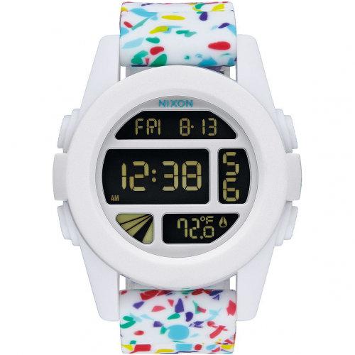 Часы NIXON Unit A/S White Multi Speckle