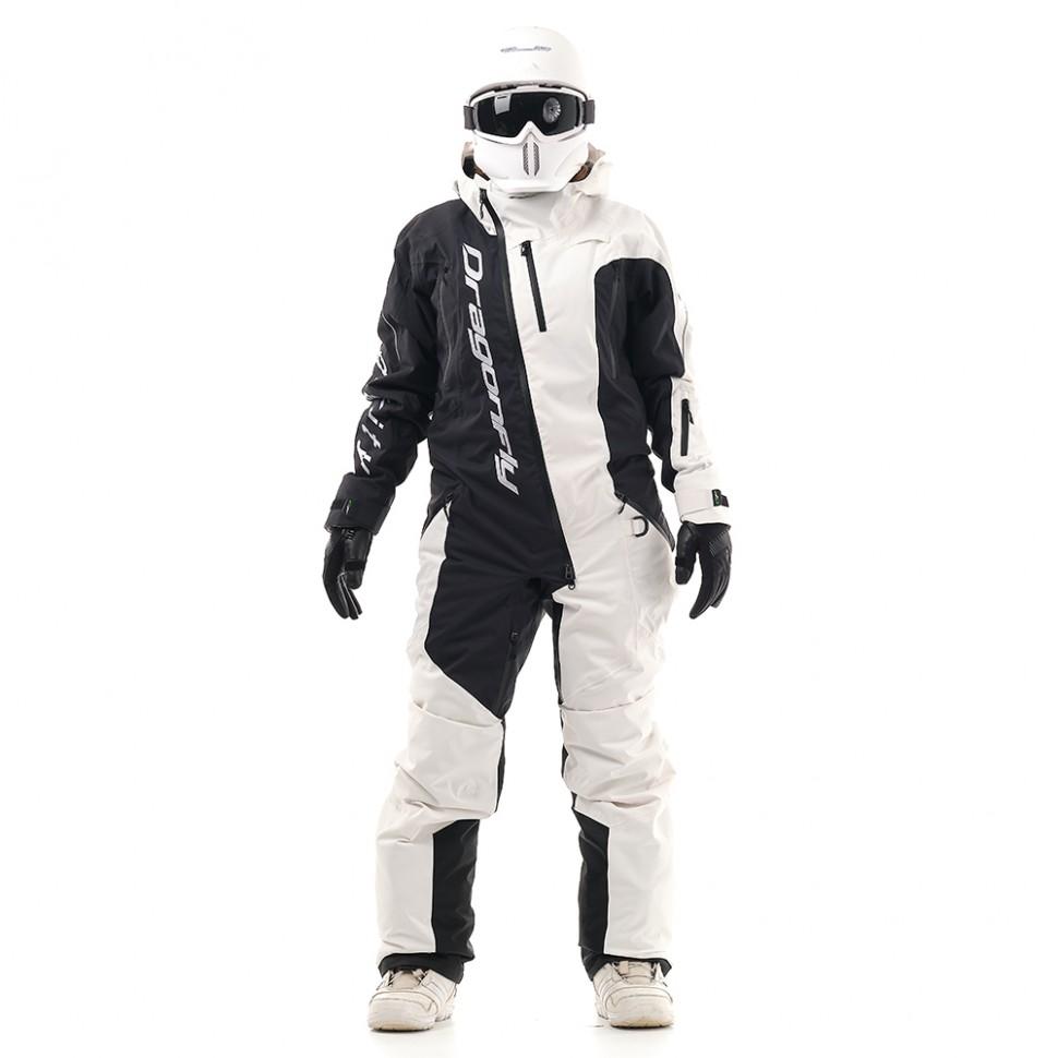 Купить со скидкой Комбинезон для сноуборда женский DRAGONFLY Ski Premium Woman Black&White