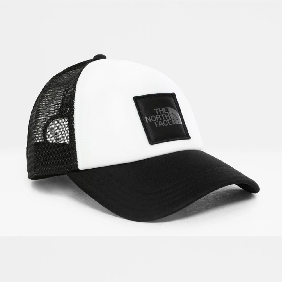Кепка THE NORTH FACE Tnf Logo Trucker Tnf black/Silver reflective фото
