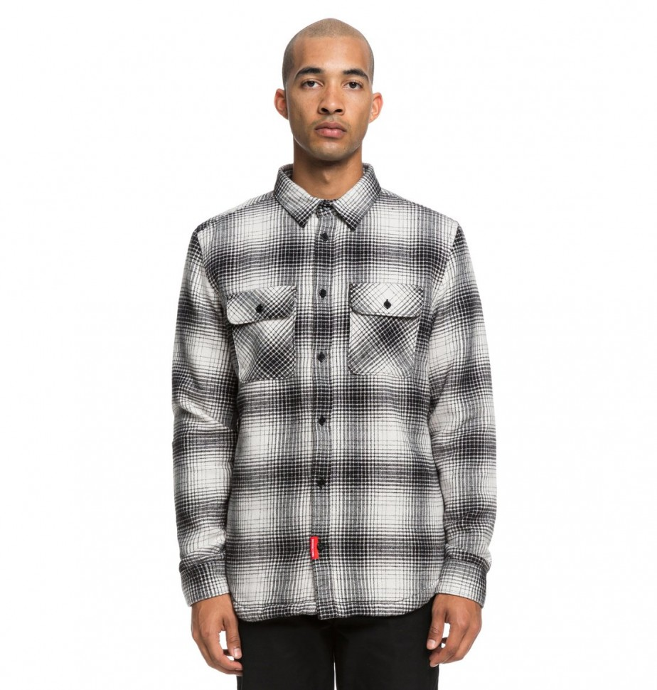 Сорочка DC SHOES Ombre Flannel M Charcoal Heather фото