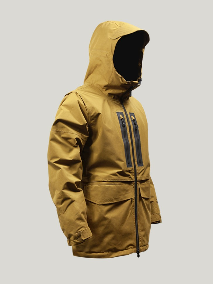 Куртка для сноуборда мужская VOLCOM Stone Gore-Tex® Jkt Caramel