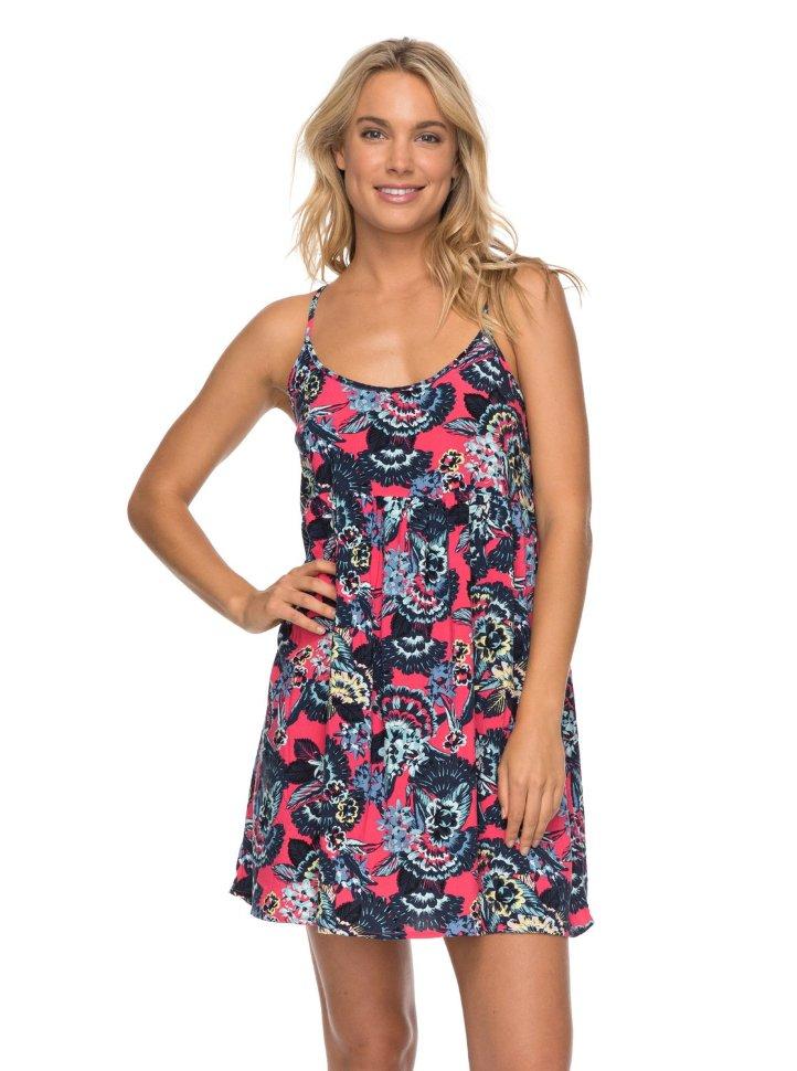 Платье женское ROXY Tropicalsundanc J Rouge Red Mahna