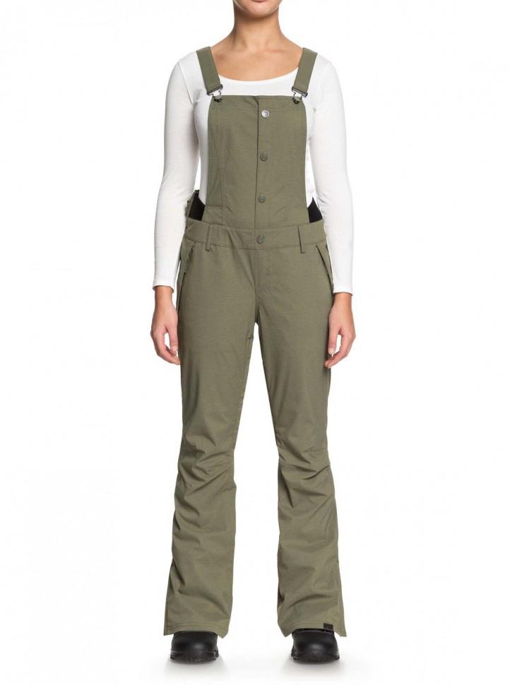 Штаны для сноуборда женские ROXY Tb Vitaly Bib J Four Leaf Clover фото