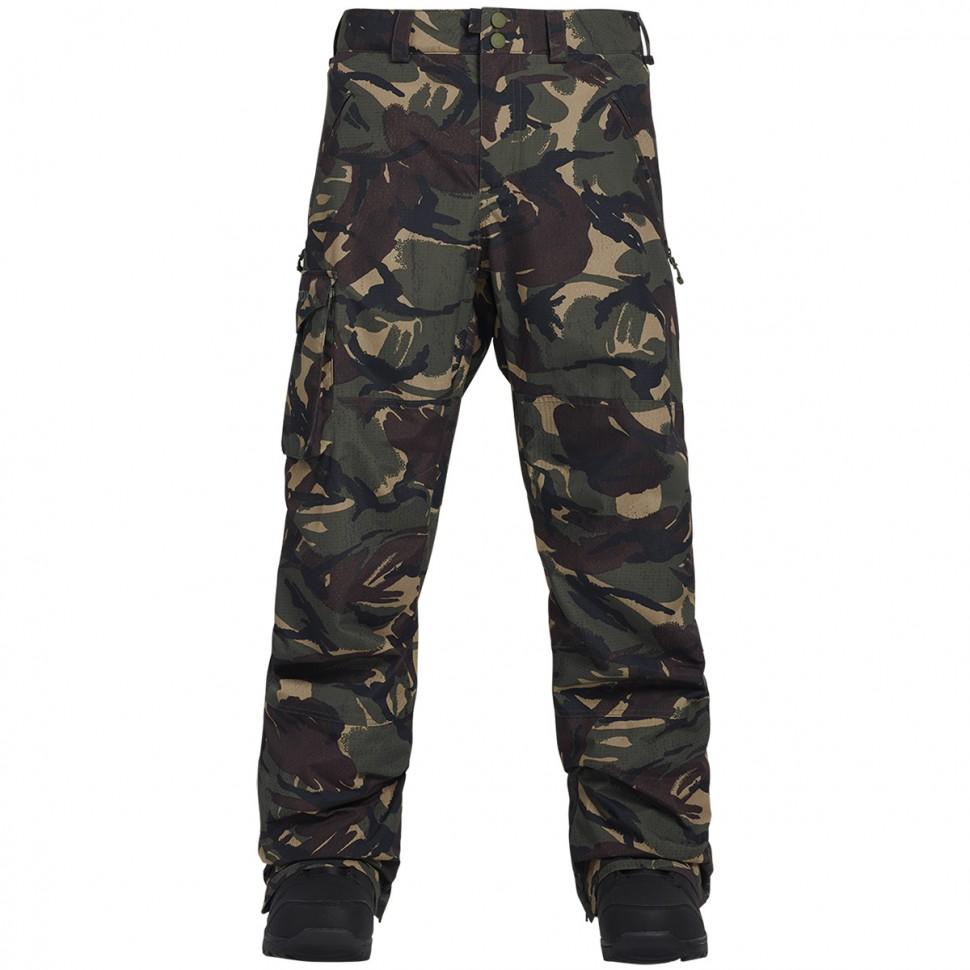 Купить со скидкой Штаны для сноуборда мужские BURTON Mb Covert Insulated Pant Seersucker Camo