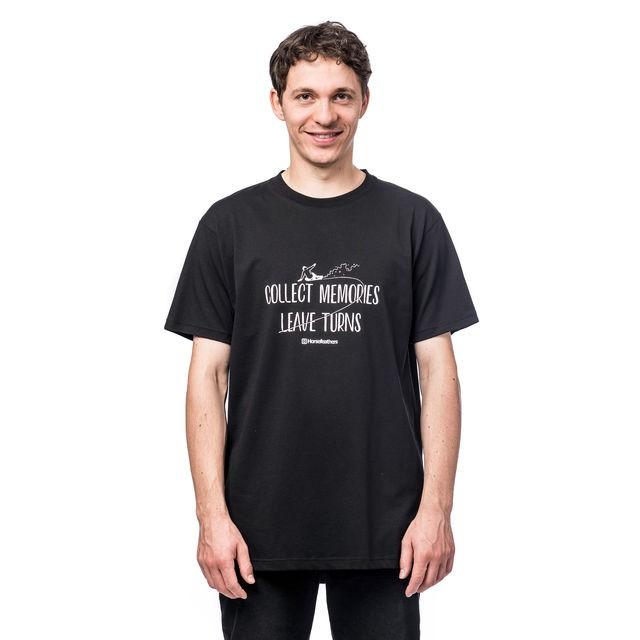 Футболка мужская HORSEFEATHERS Turns T-Shirt Black фото