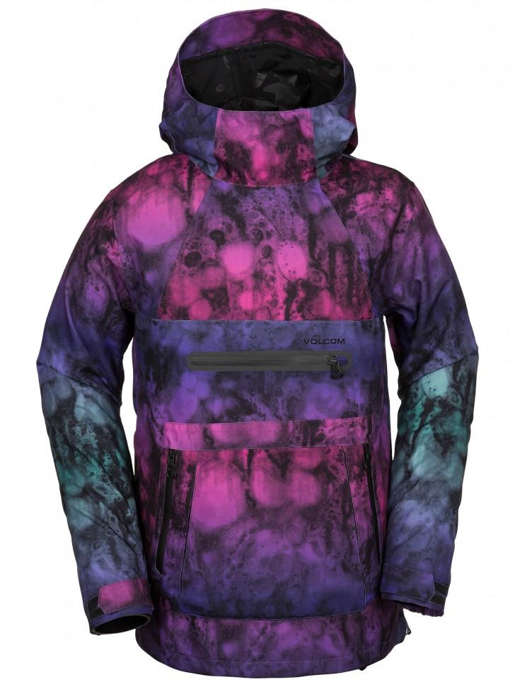 Купить со скидкой Куртка-анорак для сноуборда VOLCOM Brighton Pullover Jacket Mix
