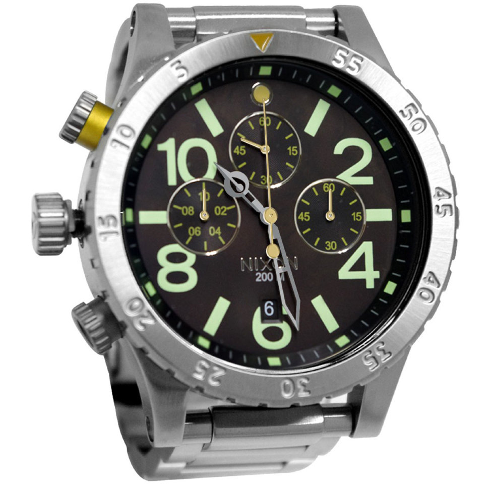Часы NIXON 48-20 Chrono A/S Dark Copper