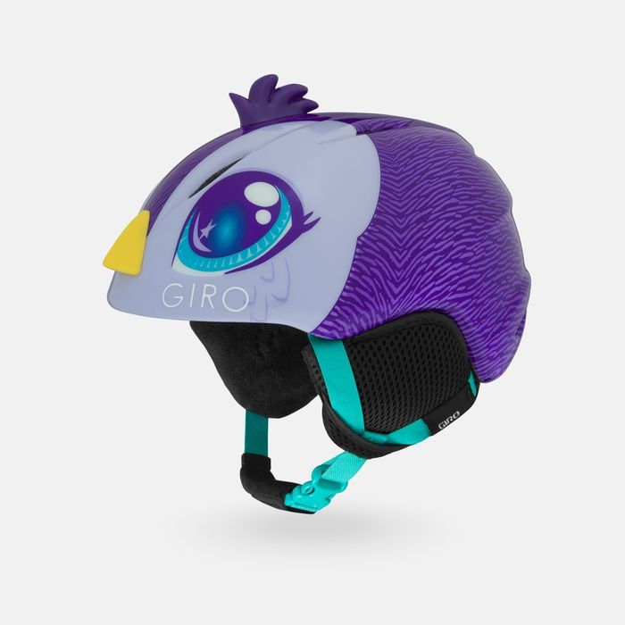 Шлем горнолыжный GIRO Launch Plus Purple Penguin 2020 фото