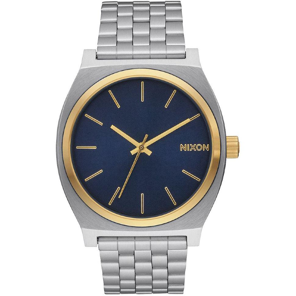 Часы NIXON Time Teller A/S Gold/Blue Sunray