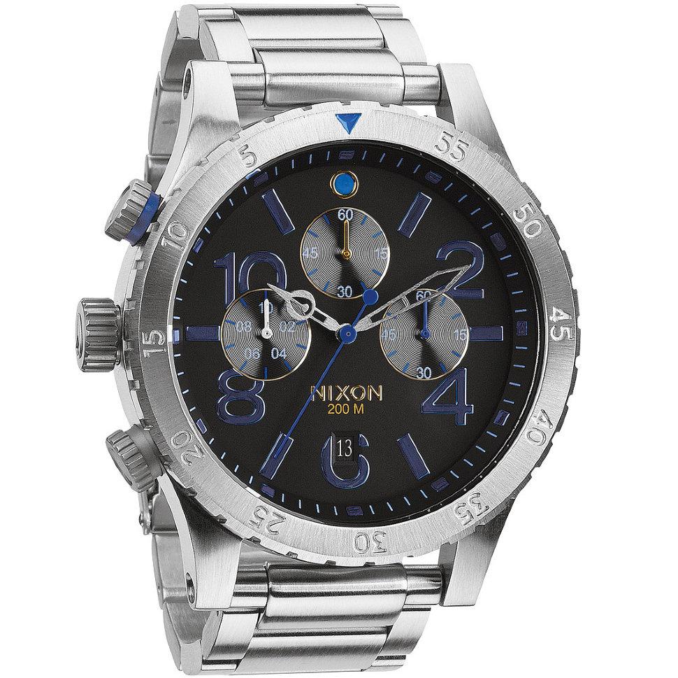 Часы NIXON 48-20 Chrono A/S Midnight Gt