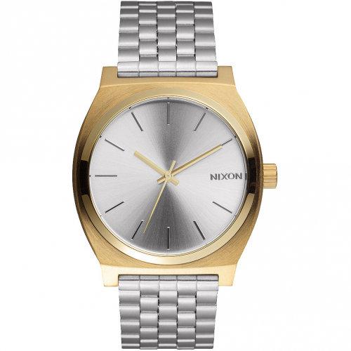 Часы NIXON Time Teller A/S Gold/Silver/Silver