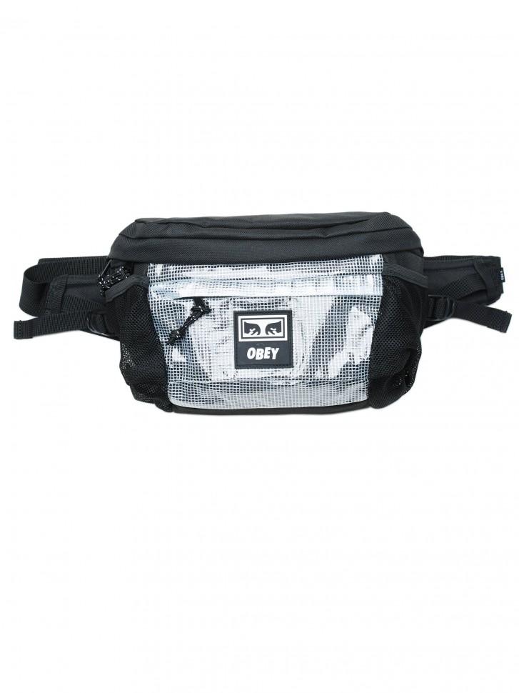 Сумка на пояс OBEY Conditions Waist Bag Ii Black