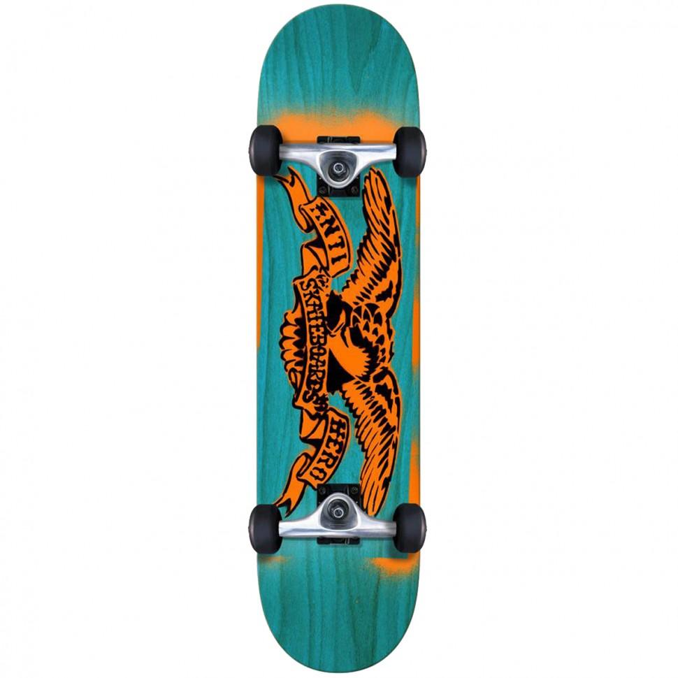 Скейтборд комплект ANTI-HERO Stencil Eagle Mini 7.38