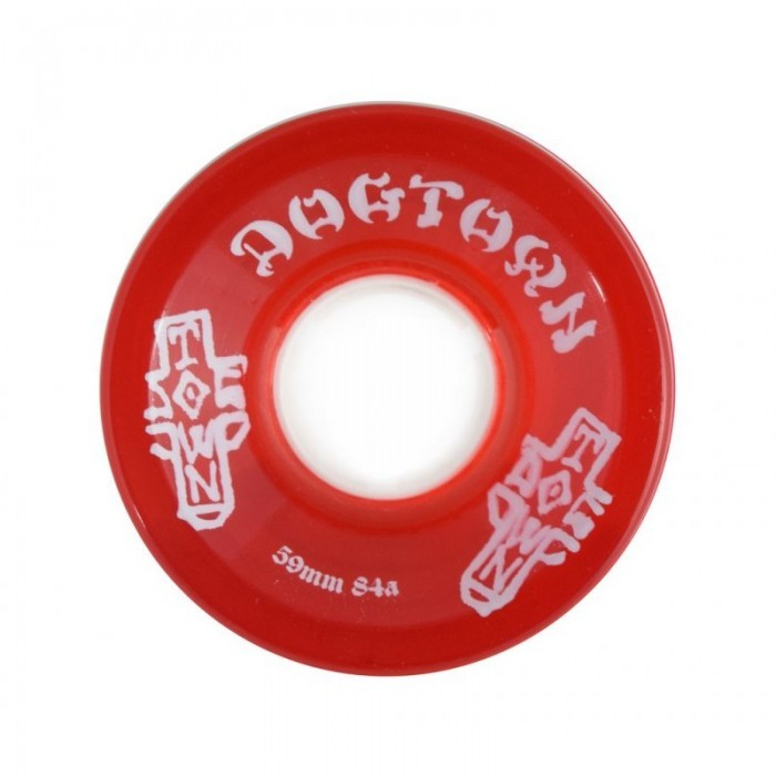 Колеса для лонгборда DOG TOWN Mini Cruiser Wheels Red 59mm