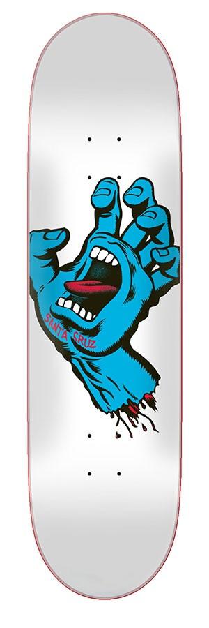 Дека для скейтборда Santa Cruz Screaming Hand Taper Tip 8.25